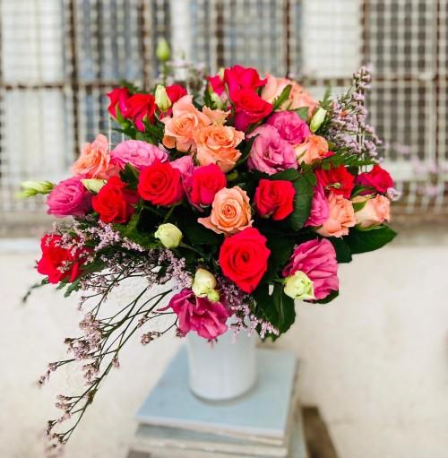 זר ורדים בואזה