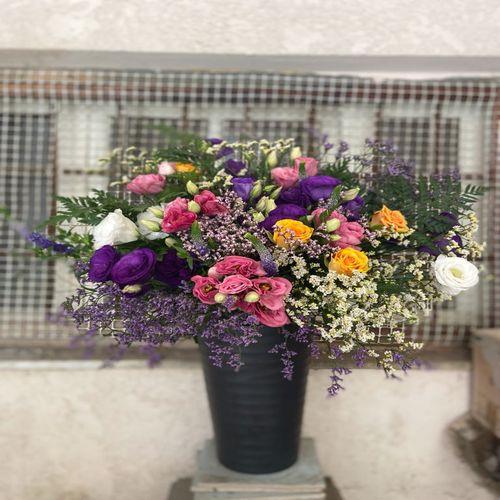 זר פרחים מרשים