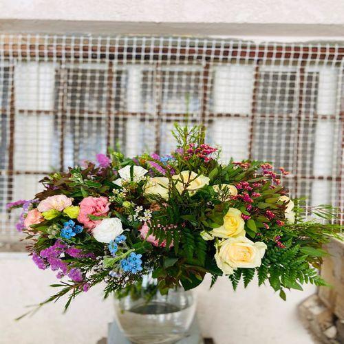 זר פרחים בואזה