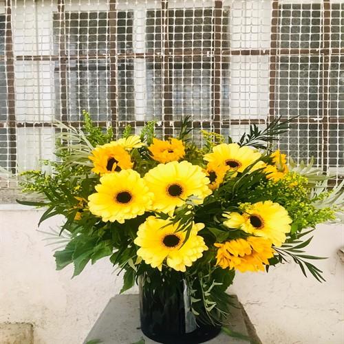 זר אהבה צהובה